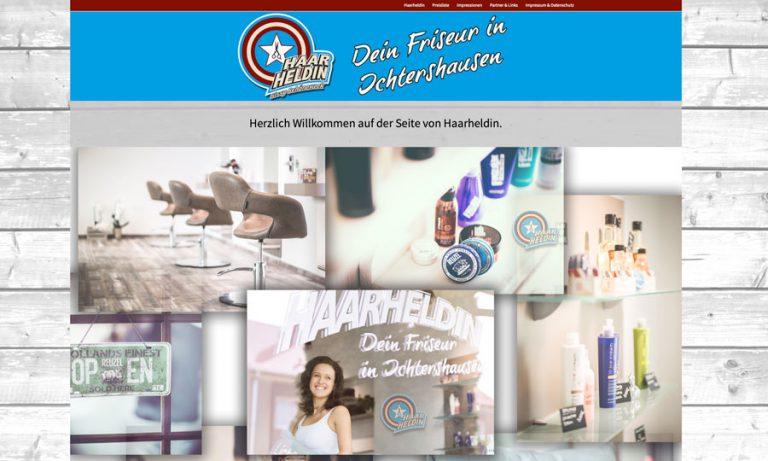 Internetseite Haarheldin aus Ichtershausen
